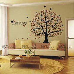 Adhesivo árbol suerte mural