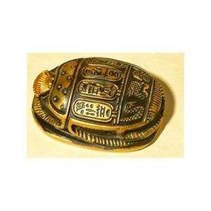 Figura de antiguo escarabajo egipcio