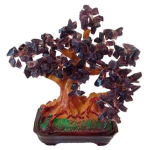 Árbol piedra amatista suerte