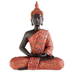 Estatua de buda rojo