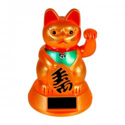 Gato chino solar