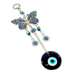 Ojo turco mariposa cristal diseño