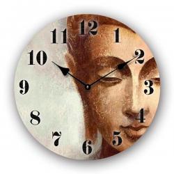 Reloj de pared con diseño de buda. 30 cm