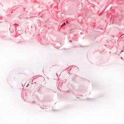 chupete de la suerte rosa 3 cm 50 unidades