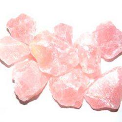 Cuarzo rosa amor mineral natural