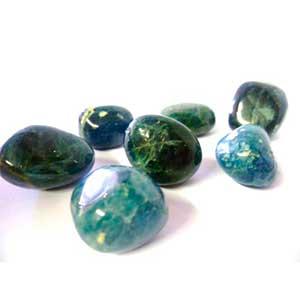 Piedra apatita azul suerte