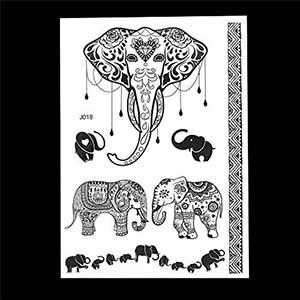 Elefante de la suerte dibujo
