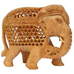 Elefante de madera significado