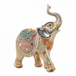 Elefante hindú trompa abajo