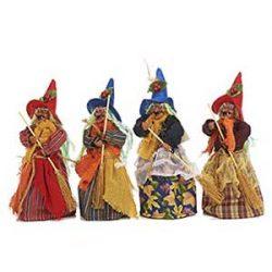 Set 4 brujas 20 cm