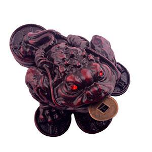 Comprar monedas chinas de la suerte y su significado - Rana de tres patas feng shui ...