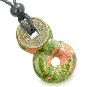 Infinity-magia-Knot-moneda-suerte-y-espiritual-proteccin-amuleto-unakit-Colgante-con-cadena-0