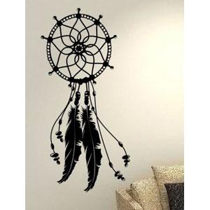Atrapasueos-Dream-Catcher-de-plumas-de-tnico-Life-AMOR-Casa-de-la-familia-juntos-Frase-Pared-Calcomanas-de-vinilo-pegatinas-Art-Decor-DIY-0