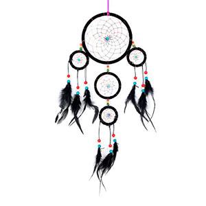 Atrapasueos-para-sueos-buenos-con-perlas-y-plumas-naturales--9-cm-o--16-cm-0