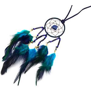 CL499-Collar-de-salto-sueos-Dreamcatcher-atrapasueos-con-plumas-diseo-tnico-color-azul-marino-y-modo-de-fantasa-0