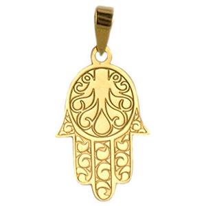 Colgante-mano-de-Ftima-Orocor-18k-Oro-amarillo-colgante-mujer-Amuleto-de-la-suerte-Oro-0
