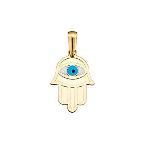 Colgante-oro-18k-mano-Ftima-ojo-turco-esmaltado-amuleto-AA4709-0