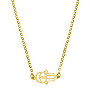 Crdoba-Jewels-Gargantilla-realizada-en-plata-de-ley-925-baada-en-oro-Diseo-con-mano-de-Ftima-y-ojo-turco-Cierre-ajustable-con-reasa-Medidas-40-cm-Pieza-18x10-mm-0