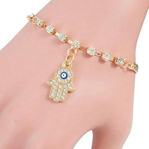 Fashion-oro-pulsera-Mano-de-Ftima-ojo-Ftima-Khamsa-pulsera-amuleto-encanto-brazalete-pulsera-dojore-0