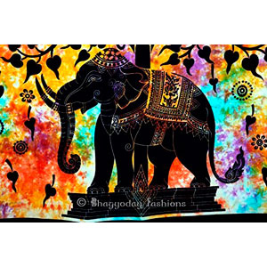 Handicrunch-Indian-Psychedelic-Celestial-Elephant-Tree-Of-Life-Tapestry