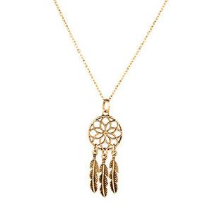 LUX-accesorios-Tribal-Atrapasueos-Hojas-Bho-Elefante-Spear-Flecha-intercambiables-collar-con-colgante-0