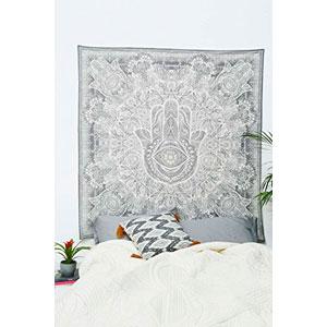 La-meditacin-del-alma-mano-del-arte-de-Ftima-Hamsa-Diseo-Mantra-Paz-decoracin-de-la-pared-de-la-tapicera-0