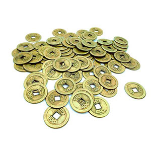 windechoo-84-con-doble-dragn-chino-buena-suerte-monedas-Shui-I-Ching-monedas