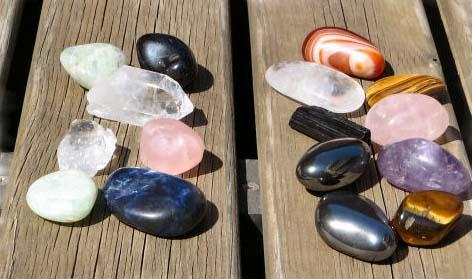 piedras limpiar sol