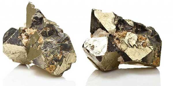piedra pirita dinero